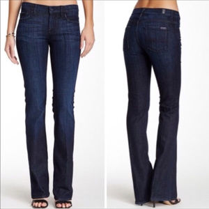 7 for all Mankind High Waist Boot Cut Jeans 29
